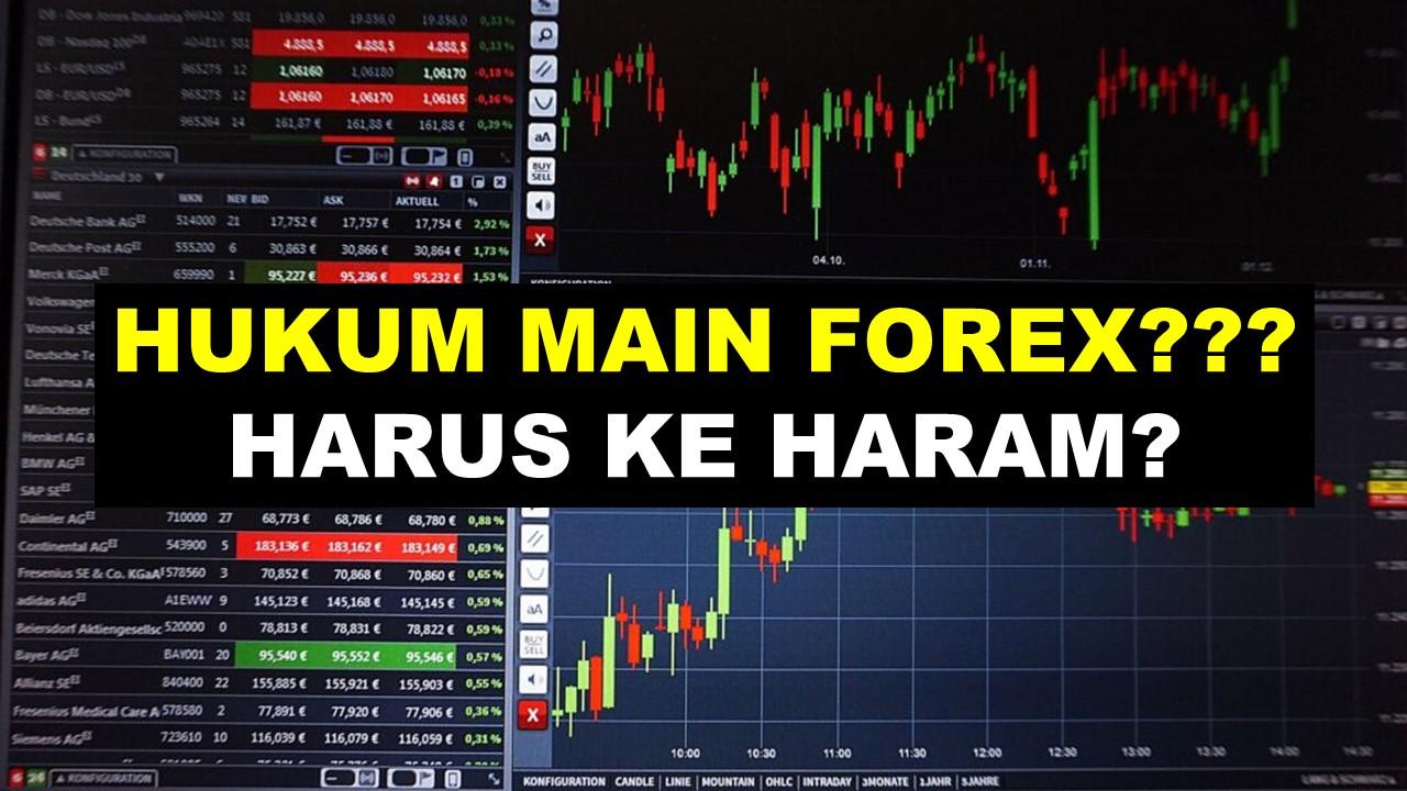 Hukum Forex Trading (Jual Beli Valuta Asing) Menurut Islam