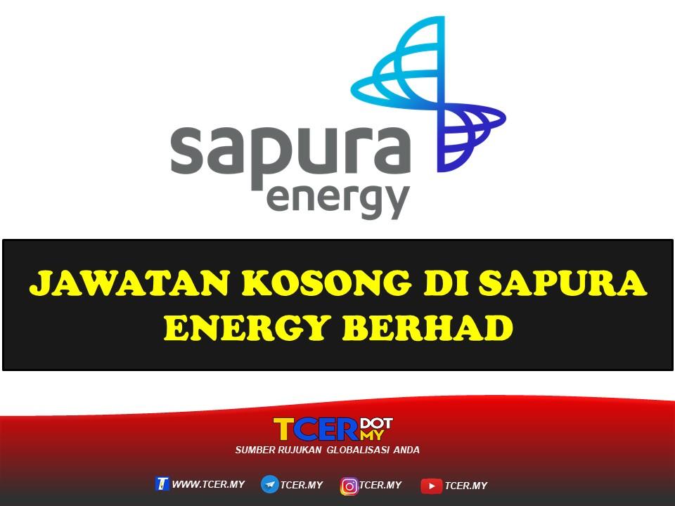 Jawatan Kosong Di Sapura Energy Berhad 2021 - TCER.MY